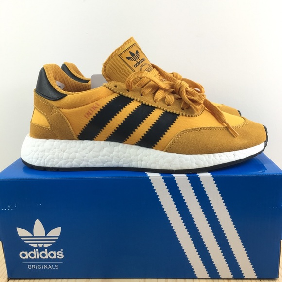 adidas Iniki Runner Boost Trainers (Gold) BY9733
